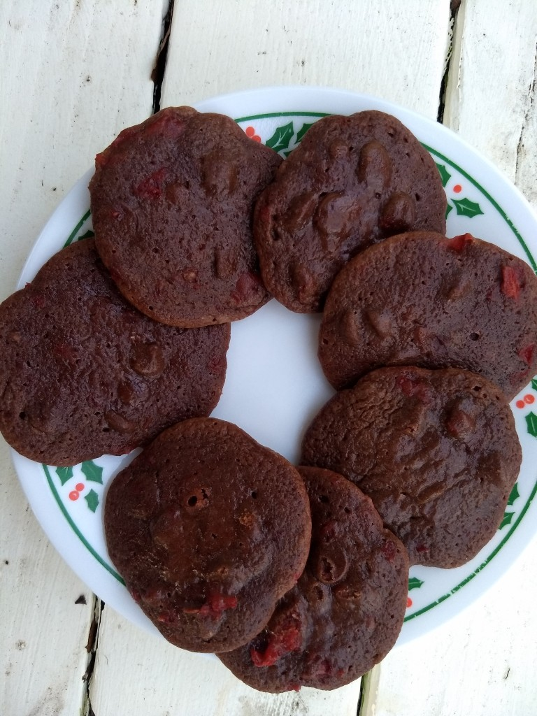 24 Days Of Christmas Cookies Day 10 Chocolate Cherry Chewies